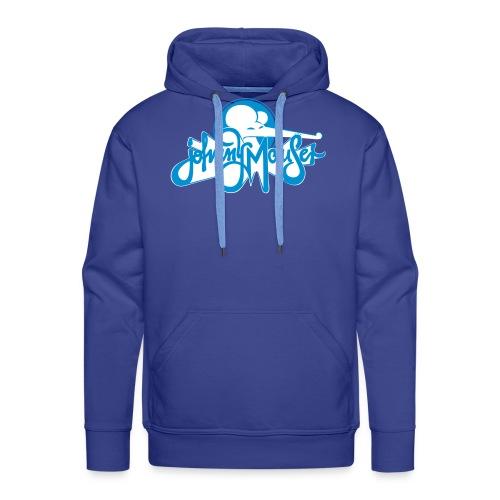 johnny mauserblau - Männer Premium Hoodie