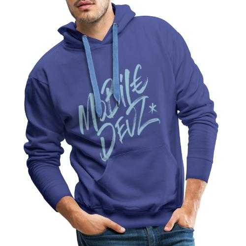 Mobile Devz -logo - Men's Premium Hoodie