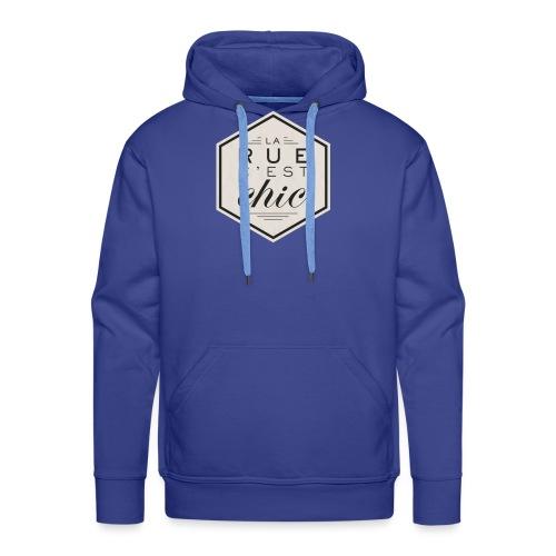 la rue c'est chic - Sweat-shirt à capuche Premium pour hommes
