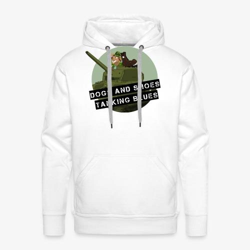 logo dogs nieuw - Mannen Premium hoodie