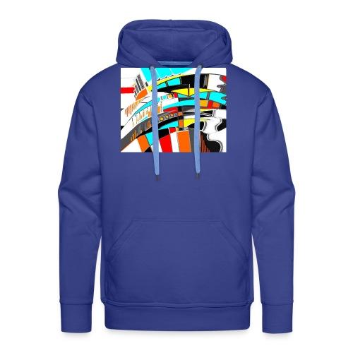 spacecity 18 W - Sweat-shirt à capuche Premium pour hommes