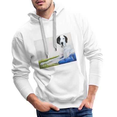 Grand danios harlequin - Herre Premium hættetrøje