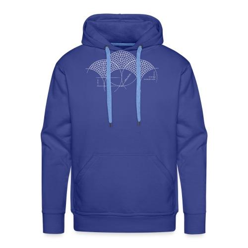European Fan White - Mannen Premium hoodie