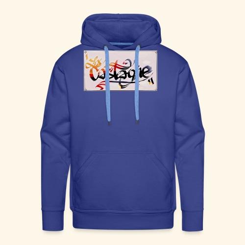 la castagne - Sweat-shirt à capuche Premium pour hommes