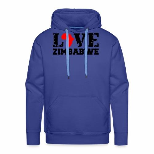 love zimbabwe - Men's Premium Hoodie