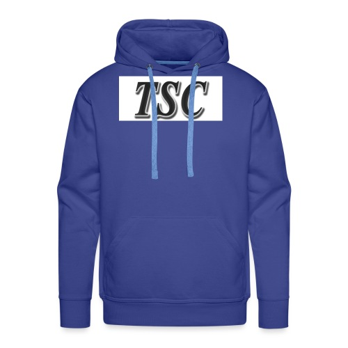 TSC Black Text - Men's Premium Hoodie