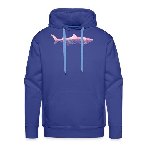 Shark attack - Sweat-shirt à capuche Premium pour hommes