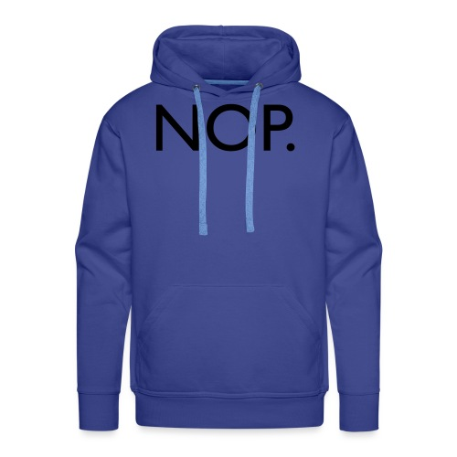 Nop - Sweat-shirt à capuche Premium pour hommes