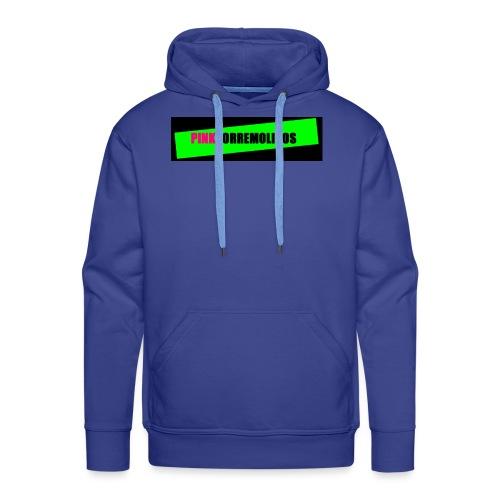 pinklogo - Mannen Premium hoodie