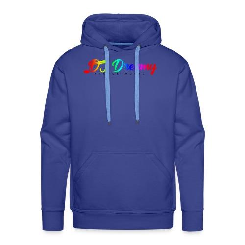 DJ Dreamy Logo PNG Gradient 1 - Men's Premium Hoodie