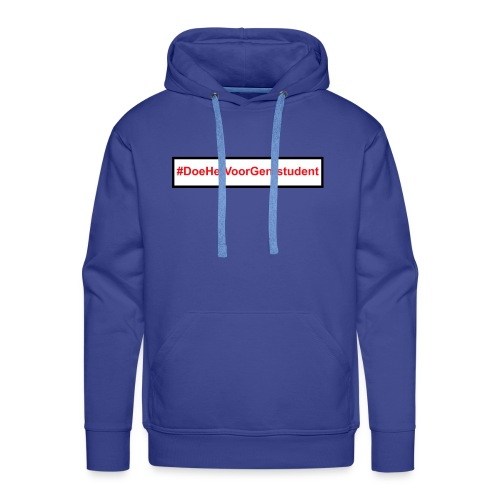 #DoeHetVoorGentstudent - Mannen Premium hoodie
