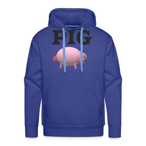 PIG - Miesten premium-huppari