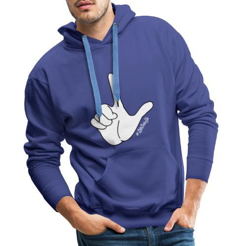 DedoBigEla - Sudadera con capucha premium para hombre
