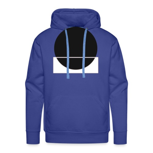 Bianco e nero - Men's Premium Hoodie