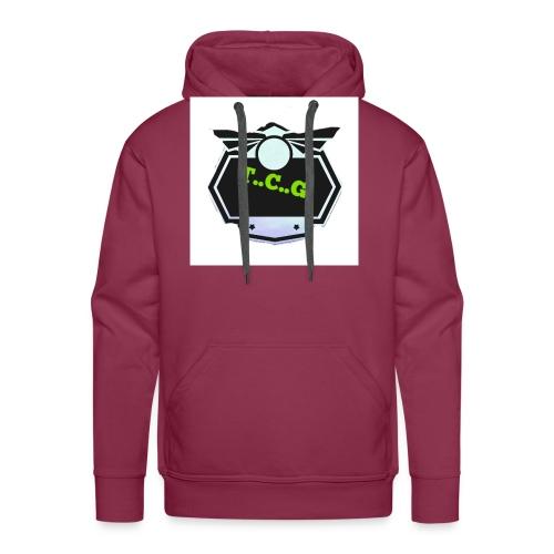 Cool gamer logo - Men's Premium Hoodie