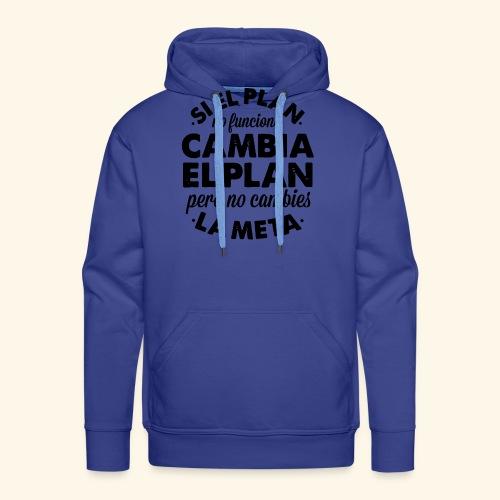 plan - Sudadera con capucha premium para hombre