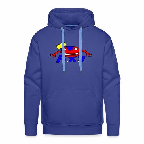 Frog world - Sweat-shirt à capuche Premium pour hommes