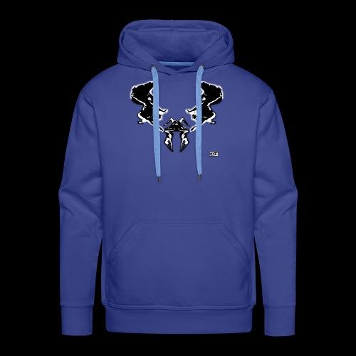 scarabe e Black - Sweat-shirt à capuche Premium pour hommes
