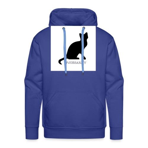 #pjoesarmy met poes - Mannen Premium hoodie