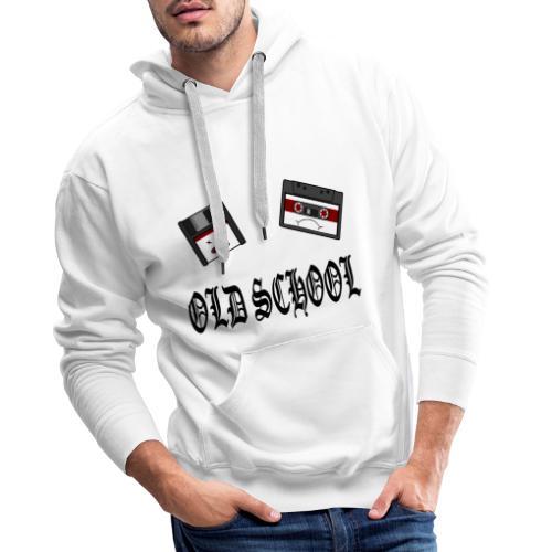 Old School Design - Männer Premium Hoodie