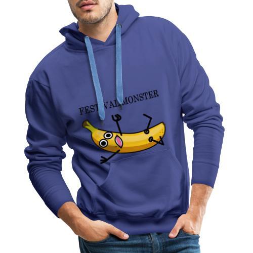 Festival Banane - Männer Premium Hoodie
