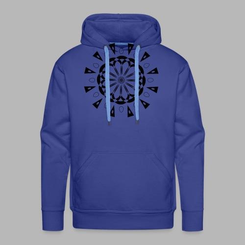 Mandala - Sweat-shirt à capuche Premium pour hommes