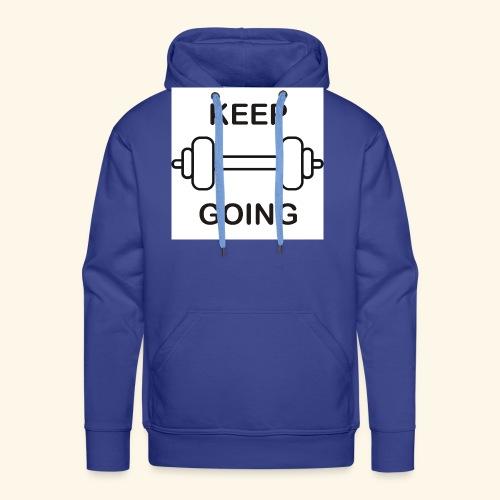 Keep - Sudadera con capucha premium para hombre