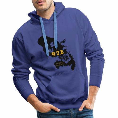 972 MADININA - Sweat-shirt à capuche Premium pour hommes