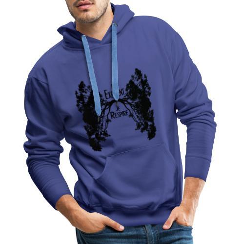 Oxygène - Sweat-shirt à capuche Premium pour hommes