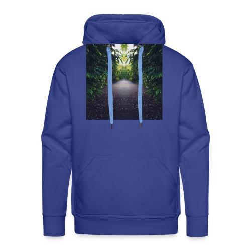 Natura - Felpa con cappuccio premium da uomo