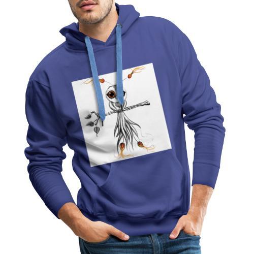 phoenix2 - Sweat-shirt à capuche Premium pour hommes