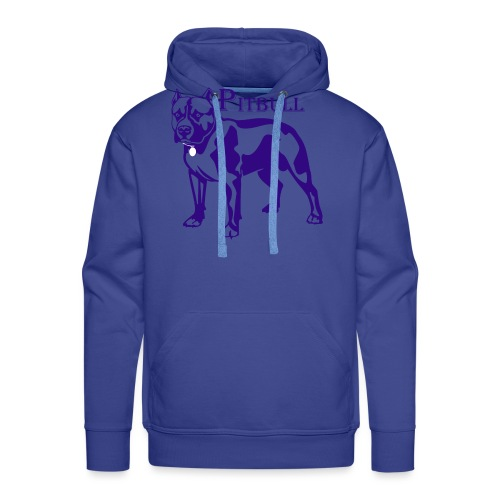pitbull - Sweat-shirt à capuche Premium pour hommes