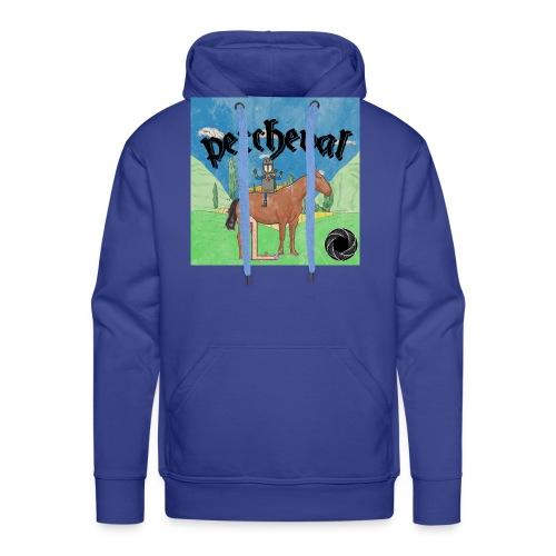 Percheval - Sweat-shirt à capuche Premium pour hommes