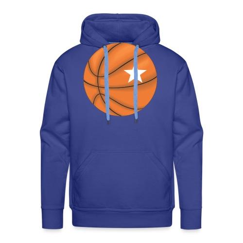 Basketball Star - Mannen Premium hoodie