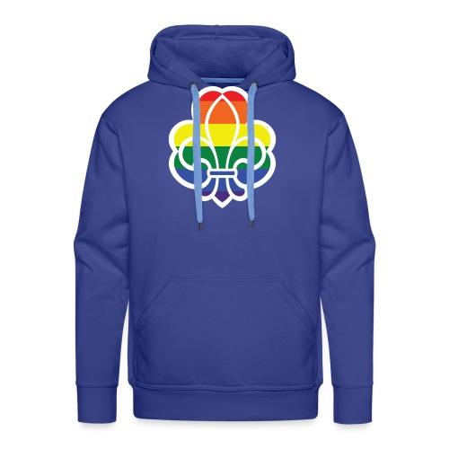 Regnbuespejder jakker og t-shirts mv - Herre Premium hættetrøje