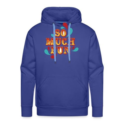 FUN - Sweat-shirt à capuche Premium pour hommes
