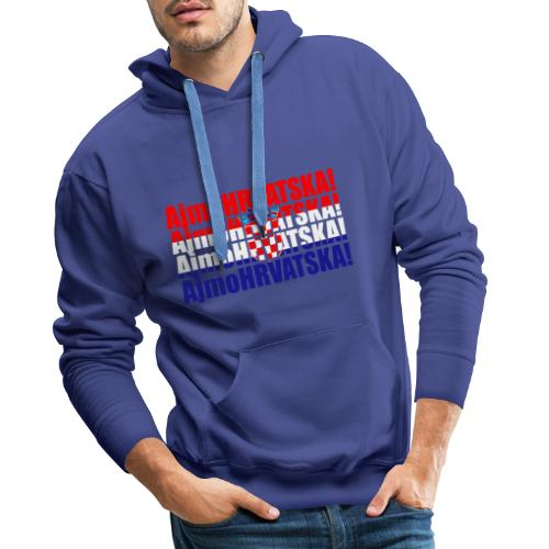 Hrvatska - Männer Premium Hoodie
