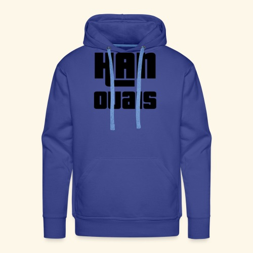 Han Ouais GTA noir - Sweat-shirt à capuche Premium pour hommes