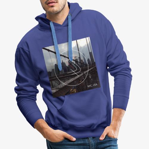 JiaLi NYC - Sweat-shirt à capuche Premium pour hommes