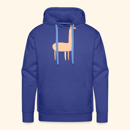 Llama - Men's Premium Hoodie