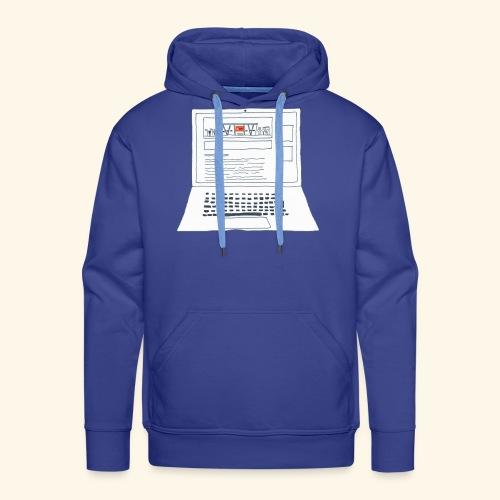 Laptop 20CENT Retail - Sweat-shirt à capuche Premium pour hommes