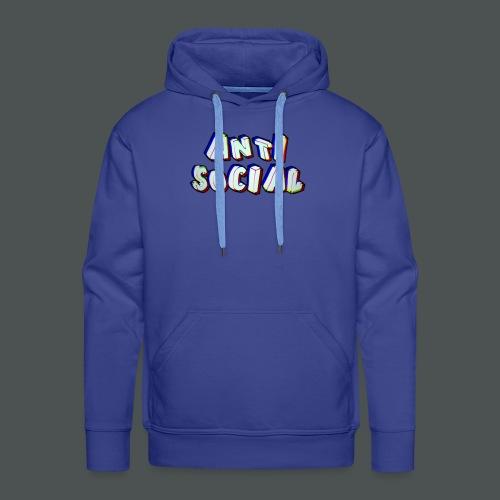 Anti social - Men's Premium Hoodie