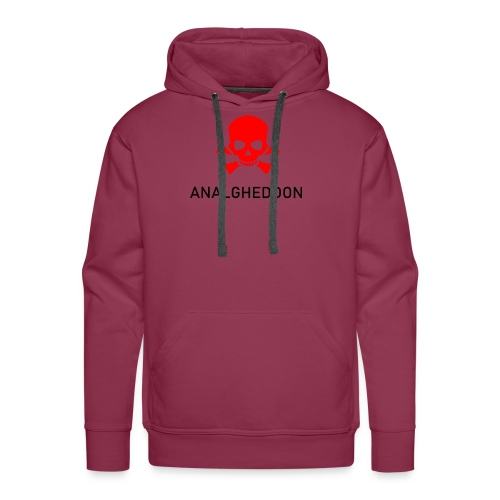 ANALGHEDDON Lustiges T-Shirt Design - Männer Premium Hoodie
