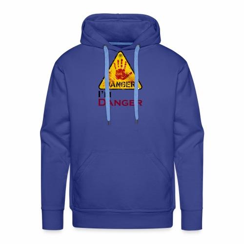 Danger - Sweat-shirt à capuche Premium pour hommes