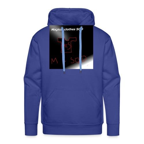 baner - Bluza męska Premium z kapturem