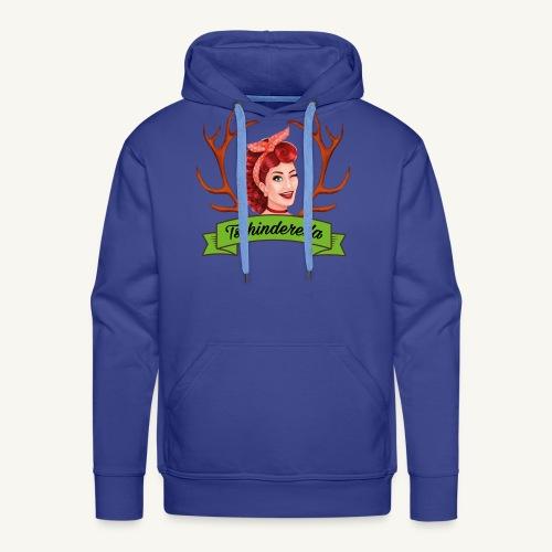 Original Tschinderella.com Logo - Männer Premium Hoodie
