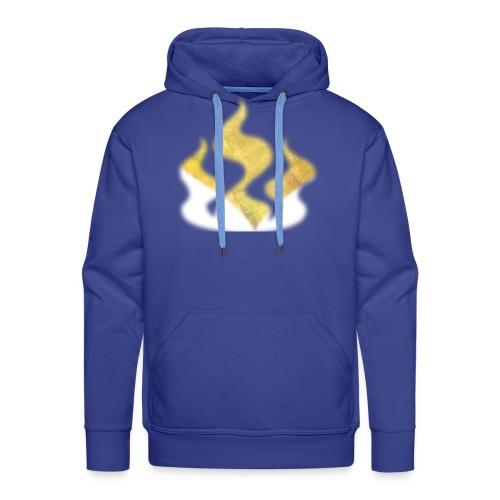Pure heart flame - Bluza męska Premium z kapturem