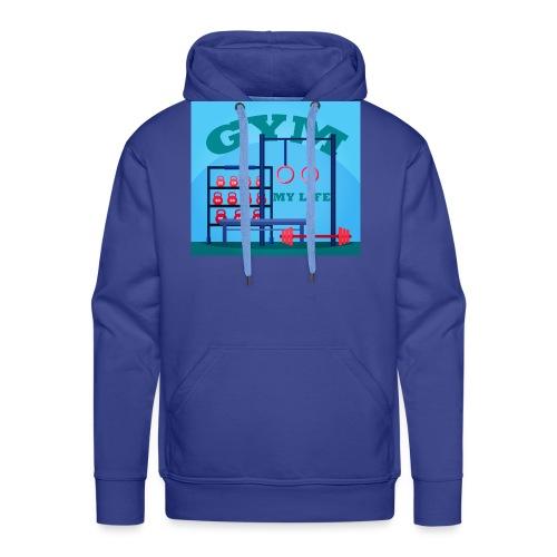 GYM - Miesten premium-huppari