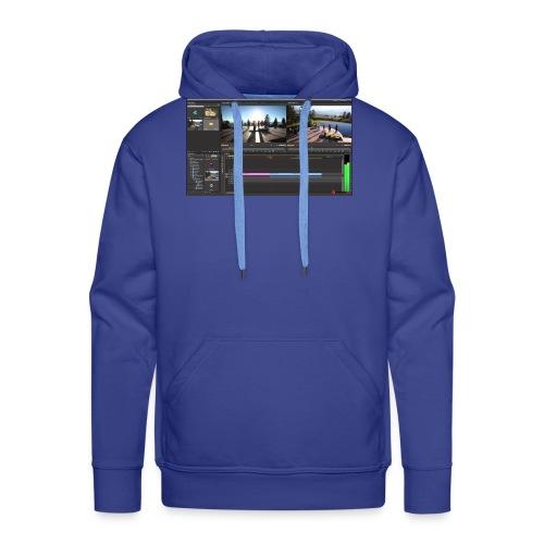 @ml rebel one - Sudadera con capucha premium para hombre