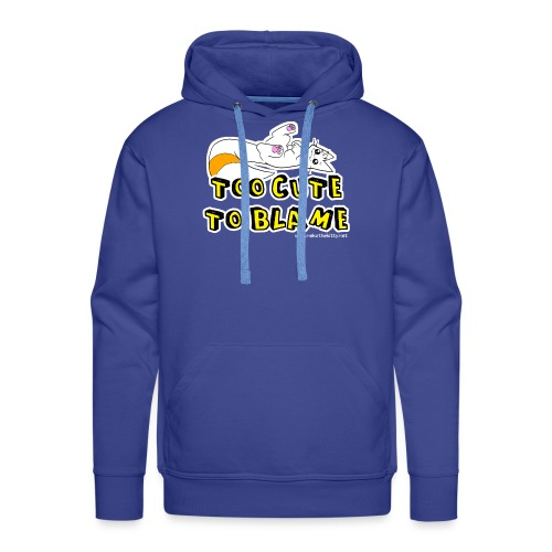 Too Cute To Blame - Men's Premium Hoodie